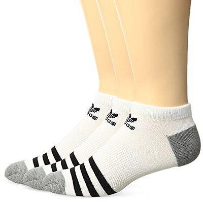 Boy's Adidas 3-Pack Original Cushioned No-Show Socks, Size 3