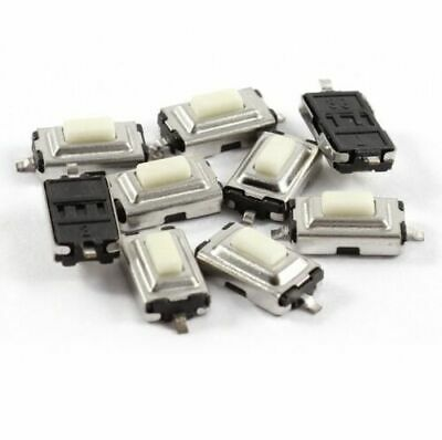 20 Pcs 3x6x2.5mm Tactile Smd Smt Push Button Micro Switch 2 Pin 4 Circuit Boards