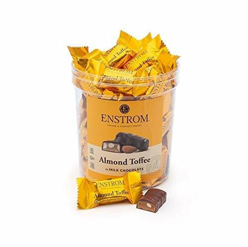 Enstrom  Almond Toffee in Milk Chocolate 2.34 LB