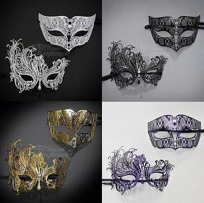 Couples Masquerade Mask, His & Hers Set, Masquerade Ball Mask Couple - Mask Ball Masks
