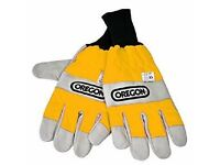 OR295399M Oregon Yellow Chainsaw Gloves (Medium), Ballynahinch