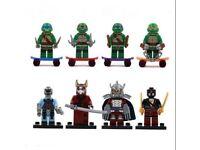 VARIOUS LEGO COMPATIBLE MINI FIGURES SETS