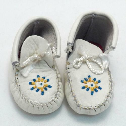Baby Moccasin Shoes >> Beaded Baby Moccasins | eBay