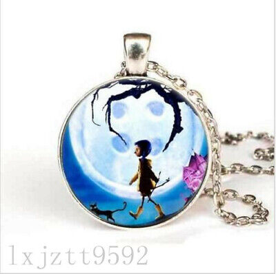 Anime Movie Coraline Necklace Coraline Pendant Necklace Chain Jewelry Women Men For Sale Online Ebay