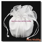 White Bridesmaid Bag