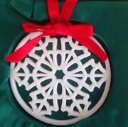 Lenox Star Ornament