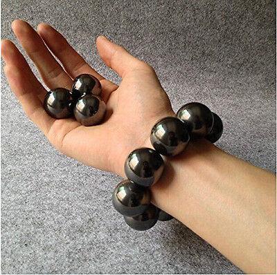 2510pcs Black Magnetic Round Ball Neodymium Hematite Singing Magnet 1620mm