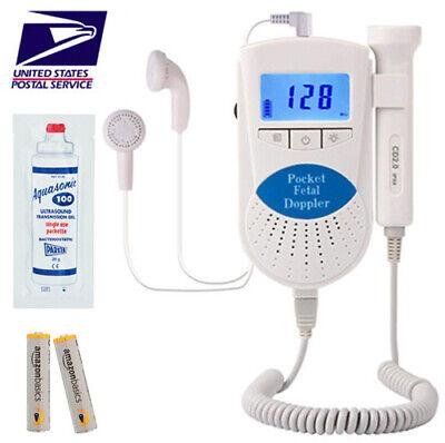 Fda Prenatal Fetal Doppler Baby Heart Monitor Baby Monitor Sound Amplifier Lcd