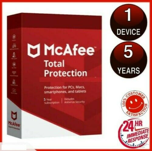 Original McAfee Total Protection 2020 🔰 1 Device 5 Years ✅ instant Dєlivery📥