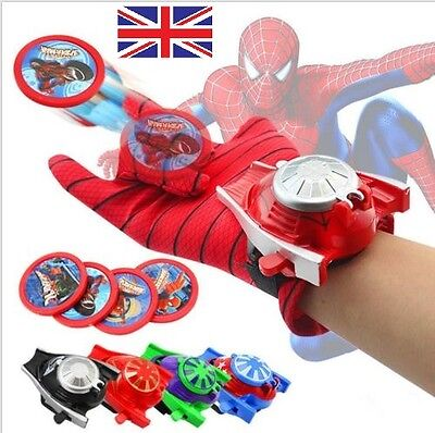 Super Held Handschuhe (Superheld Trägerraketen Handschuhe Spiderman Iron Man Hulk Kinder Cosplay)