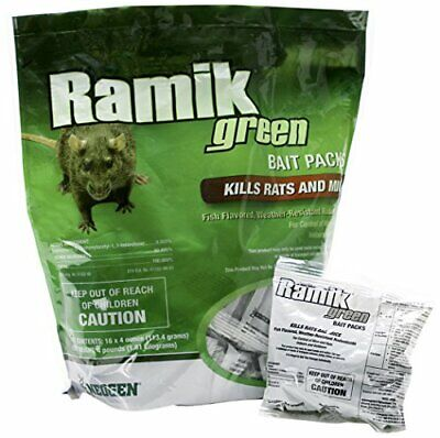 Neogen 698782 Green Ramik Nuggets Place Pack Pouch 4-Pound