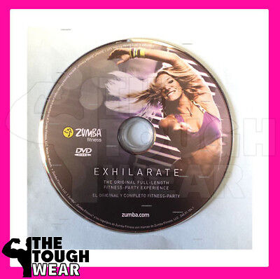 ZUMBA Exhilarate EXHILARATE DVD Body shaping system Lose weight lean ORIGINAL