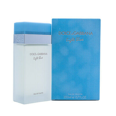 Light Blue by Dolce & Gabbana D&G 6.7 oz EDT Perfume for Women New In Box