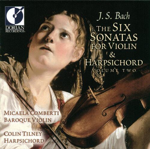 Micaela Comberti, J. - 6 Sonatas for Violin & Harpsichord 2 [New CD]