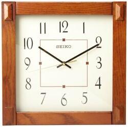 Seiko Wall Clock Dark Brown QXA469BLH