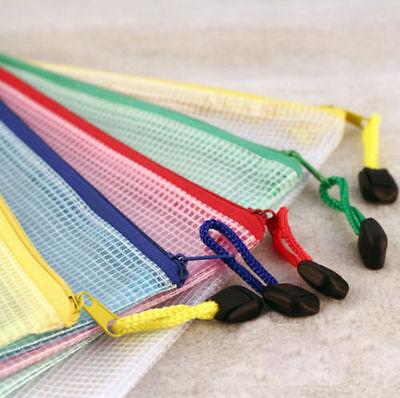 A3 Plastic Zippy Bags Zip File Storage Document Folder Protective WalleSSTG