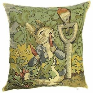NEW-14-BEATRIX-POTTER-PETER-RABBIT-CUSHION-COVER-871-BEAUTIFUL-GIFT-IDEA