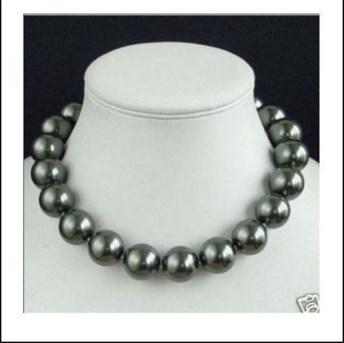 14k Black Pearl Necklace Ebay