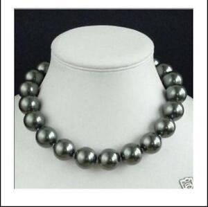 ba584fc87b7142 Black Pearl Necklace | eBay