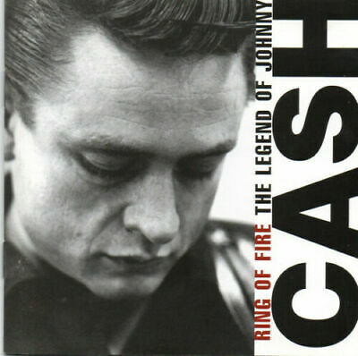 Johnny Cash Ring Of Fire The Legend Of (Best of Greatest hits) *NEW* Gift Idea