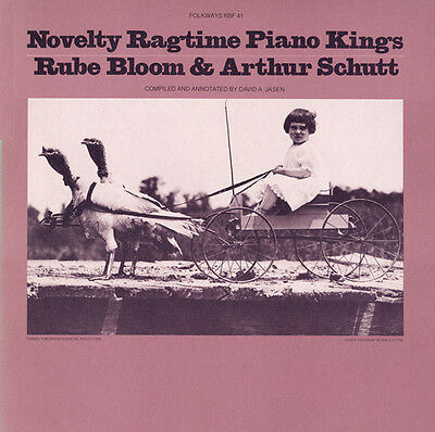 Rube Bloom, Rube Blo - Novelty Ragtime Piano Kings [New CD]