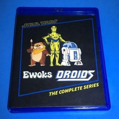 Star Wars Droids & Ewoks cartoon Complete Series BluRay 3-disc set