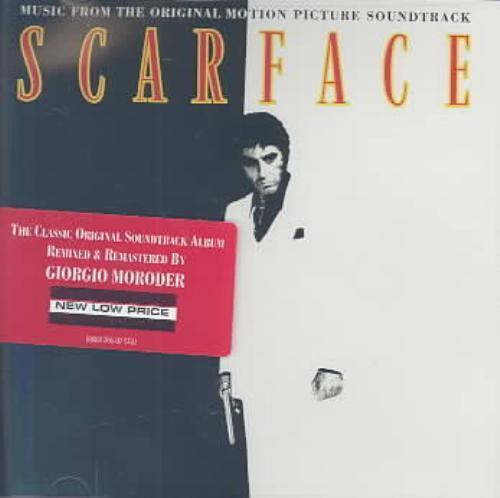 ORIGINAL SOUNDTRACK - SCARFACE [ORIGINAL SOUNDTRACK] [REMASTER] NEW CD