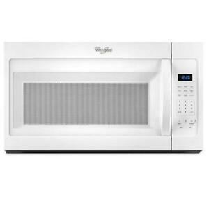 30'' Over-the-Range Whirlpool Microwave, White, Showroom