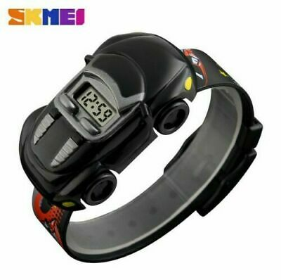 SKMEI Digital Watches Children Cartoon Wristwatch Car Watch Gift for Boys Sport