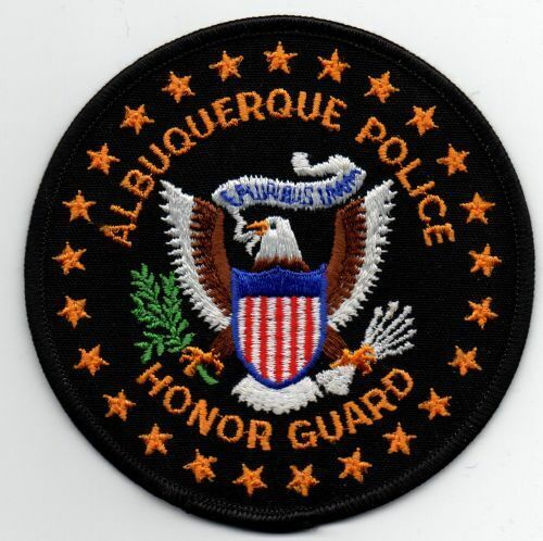 NEW MEXICO NM ALBUQUERQUE POLICE HONOR GUARD NICE PATCH SHERIFF