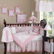 White Baby Bedding Set