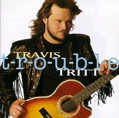 T R O U B L E By Travis Tritt Cd Aug 1992  Warner Bros  Brand New Factory Sealed