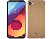 LG Q6 Gold 5.5-Inch Unlocked Dual Sim Smartphone LIKE NEW