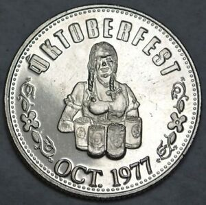 1977 Kitchener OKTOBERFEST TOKEN COIN
