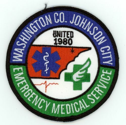 WASHINGTON COUNTY JOHNSON CITY TENNESSEE EMERGENCY MEDICAL SERVICES NEW PATCH