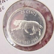 1967 Canadian Quarter