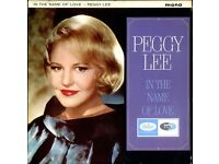 PEGGY LEE - In The Name Of Love - Original UK Mono 1964 LP