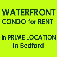 WATERFRONT CONDO with a View of Bedford Basin & DeWolf Park