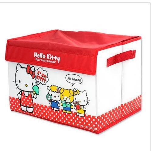 Hello Kitty Toy Bin : Hello kitty toy box ebay