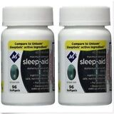 Sleep Aid Sleeping Pills Members Mark Diphenhydramine 50 mg 192 softgels, 2019