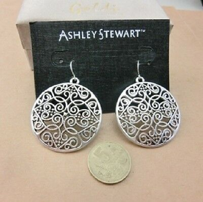 BOHO vintage style chandelier / cutout circle drop earrings, multiple choices ()