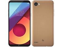 LG Q6 Gold 5.5-Inch Unlocked Dual Sim Smartphone LIKE NEW (1 month old)