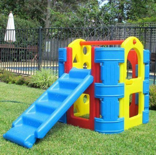 play gym outdoor toys ebay. Black Bedroom Furniture Sets. Home Design Ideas