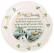 Irish Blessing Plate