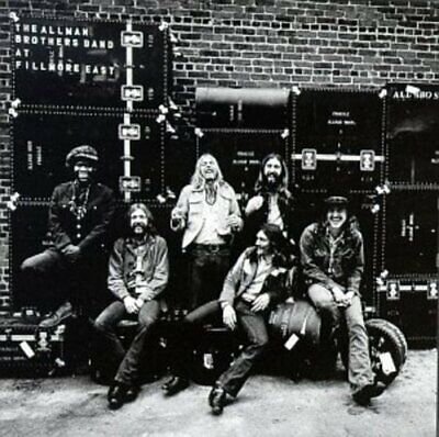 Allman Brothers Band - Live At Fillmore East (CD Used Very