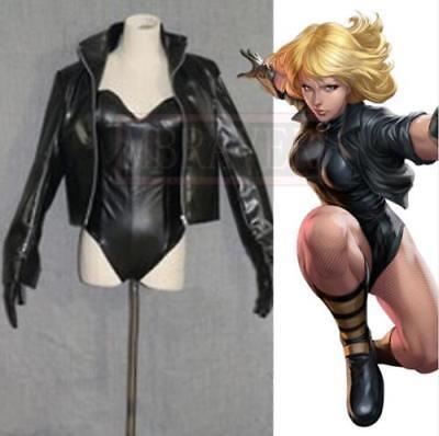 Black Canary Cosplay Costume (DC Comics Green Arrow 5 Black Canary Cosplay Costume Tailor Made: Free)