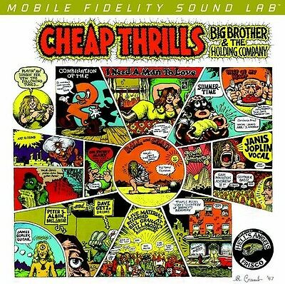 Big Brother   The Holding Company   Cheap Thrills  New Vinyl  Ltd Ed  180 Gram