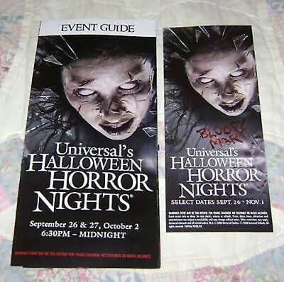 HTS 18 UNIVERSAL MAP EVENT GUIDE 08 (Halloween Horror Nights 18)