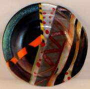 Iridescent Glass Plate