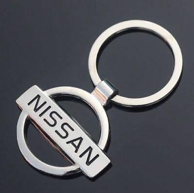 Llavero Nissan, logotipo, emblema, buena calidad, #1
